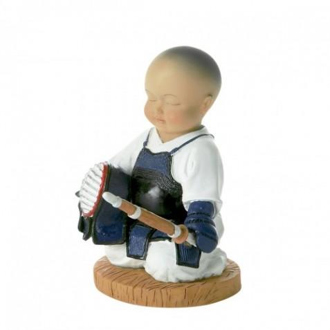 Figura del Kendo. 14 cm. 2 modelli