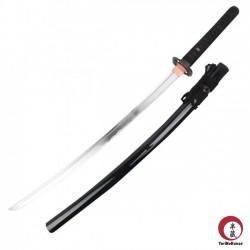 Musashi Iaito. Acciao temperato AISI 1060. Nera con corda nera