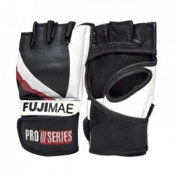 MMA GLOVES Guanto MMA ProSeries. Pelle. Nero, Blu, Verde. T/S-M-L-XL