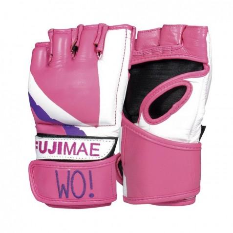 MMA GLOVES Guanto MMA Wo!. Pelle. Rosa. T/S-M-L
