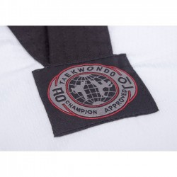 KIMONOS TAEKWONDO DOBOK WTF. Colletto Nero. Diamond