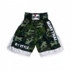 THAI BOXING Short K-1. Camuouflage. T/M-L-XL