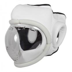 GUANTI DA SACO Casco con maschera transparente. Taglia unica