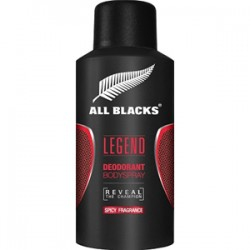 GILBERT ALL BLACKS LEGEND Deodorante 150 ml