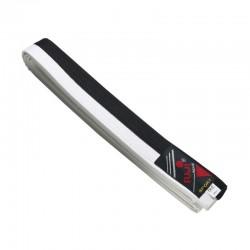 Cinture Difesa Personale. Nero/Bianco. Cotone. 260-280-300-320 cm