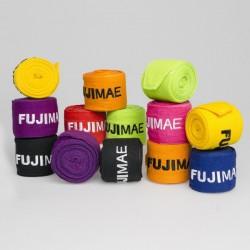 FUJIMAE PROTEZIONI - TESSILE Bendaggio Elastico Proseries. Polyestere. Giallo, Arancio, Lime, Blu, Nero, Rosso, Fucsia