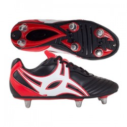 GILBERT SCARPA S/STEP XV 8 Studs BLACK/RED